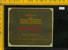 Etichetta Vino Liquore Moscato D'Asti Muray Beppe Marino-S. Stefano Belbo - Etichette