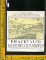 Etichetta Vino Liquore Gewurztraminer Valle D'Isarco BZ - Etichette