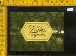 Etichetta Vino Liquore Vintage Tunina Bianco 1987 Jermann-Villanova Di Farra - Etichette