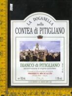 Etichetta Vino Liquore Bianco Di Pitigliano La Doganella-Grosseto - Etichette