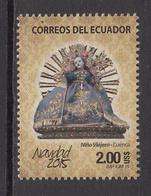2015 Ecuador Navidad Christmas Noel  Complete Set Of 1 MNH - Equateur