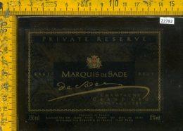 Etichetta Vino Liquore Champagne Grand Cru Vintage 1981 Francia - Etichette