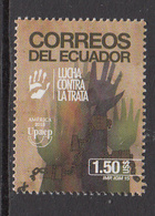2015 Ecuador Human Trafficking  Complete Set Of 1 MNH - Equateur