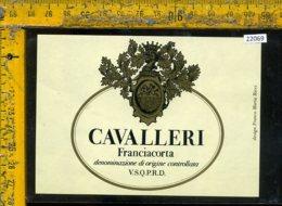 Etichetta Vino Liquore Cavalleri Franciacorta - Etichette