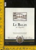 Etichetta Vino Liquore Le Balze Del Poggiolino-Tavarnelle Val Di Pesa FI - Etichette