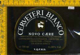 Etichetta Vino Liquore Cerveteri Bianco Novo Caere - Cerveteri - Etichette