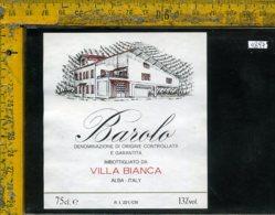 Etichetta Vino Liquore Barolo Villa Bianca-Alba CN - Etichette