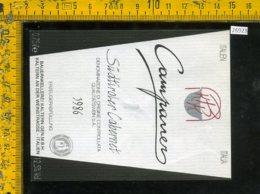 Etichetta Vino Liquore Campaner Cabernet 1986 Sudtiroler BZ - Etichette