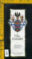 Etichetta Vino Liquore Nosiola Villa Graziadei-Terlago TN - Etichette