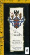Etichetta Vino Liquore Chardonnay Villa Graziadei-Terlago TN - Etichette