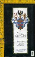 Etichetta Vino Liquore Muller Thurgau Villa Graziadei-Terlago TN - Etichette