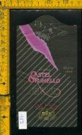 Etichetta Vino Liquore Valtellina Tre Leghe 1984 Castel Grumello - Etichette