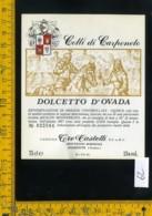 Etichetta Vino Liquore Dolcetto D'Ovada 1987 Tre Castelli-Montaldo Bormida AL - Etichette