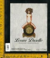 Etichetta Vino Liquore Lessini Durello Marcato Roncà VR - Etichette