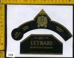 Etichetta Vino Liquore Brut Letrari Nogaredo-Trento - Etichette