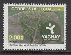 2016 Ecuador Yachay Environment Conservation  Complete Set Of 1 MNH - Ecuador