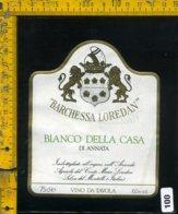 Etichetta Vino Liquore Bianco Della Casa Barchessa Loredan-Selva Del Montello - Etichette