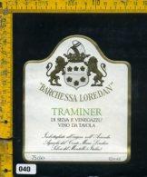 Etichetta Vino Liquore Traminer Di Selva E Venegazzu Loredan-Selva Del Montello - Etichette
