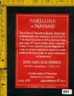 Etichetta Vino Liquore Morellino Di Scansano 1989 S. Franceschini-Grosseto - Etichette