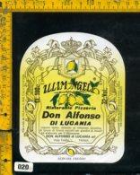 Etichetta Vino Liquore Limongello Ristorante Don Alfonso Di Lucania-Parma - Etichette