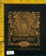 Etichetta Vino Liquore Rosso Di Venegazzu Barchessa Loredan-S. Del Montello - Etichette