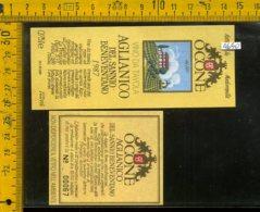 Etichetta Vino Liquore Aglianico Del Sannio Beneventano 1987-Vinicola Ocone BN - Etichette
