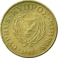 Monnaie, Chypre, 2 Cents, 1983, TTB, Nickel-brass, KM:54.1 - Chypre
