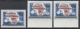 Burundi 1962 - HOMMAGE A DAG HAMMARSKJÖLD ROYAUME DU BURUNDI - Mi 34, 2 X 36 ** MNH - Burundi
