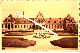 BINCHE - La  Gare - Binche