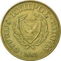 Monnaie, Chypre, 10 Cents, 1983, TB+, Nickel-brass, KM:56.1 - Chypre