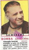 Figurina Bomba Americana Anni 50 Joseph Scherens-Ciclista - Ciclismo
