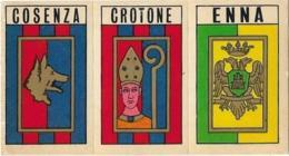 SCUDETTO SERIE C COSENZA-CROTONE-ENNA PANINI 1970/71 Nuovo Con Velina - Panini