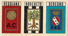 SCUDETTO SERIE C REGGIANA-ROVERETO-SEREGNO PANINI 1970/71 Nuovo Con Velina - Panini