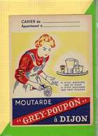 Protege Cahier : Moutarde GREY POUPON A Dijon - Protège-cahiers