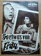 "Sophia Loren In ""So Etwas Von Frau (Sidney Lumet)"" Mit Tab Hunter, George Sanders ... Altes IFB-Filmprogramm /a51 - Merchandising"