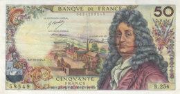 Billet 50 F Racine Du 3-10-1974 FAY 64.28 Alph. R.254 - 1962-1997 ''Francs''