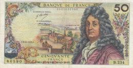 Billet 50 F Racine Du 8-11-1973 FAY 64.25 Alph. B.234 - 1962-1997 ''Francs''