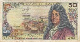 Billet 50 F Racine Du 4-1-1973 FAY 64.22 Alph. Q.206 - 1962-1997 ''Francs''