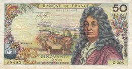 Billet 50 F Racine Du 4-1-1973 FAY 64.22 Alph. C.206 - 50 F 1962-1976 ''Racine''