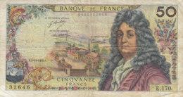 Billet 50 F Racine Du 5-11-1970 FAY 64.17 Alph. E.170 - 50 F 1962-1976 ''Racine''