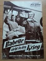 """Brigitte Bardot In """"Babette Zieht In Den Krieg"""" Mit Jacques Charrier, Hannes Messemer ... Altes IFB-Filmprogramm /a56 - Magazines"""