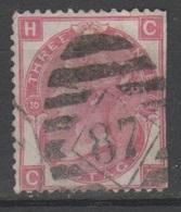 Gran Bretagna 1862 - Effigie 3 P. Tav. 10 - 1840-1901 (Regina Victoria)