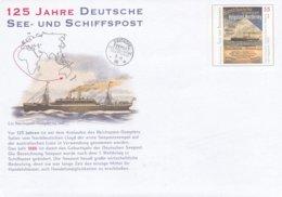 Germany Postal Stationary 2010 125 Jahre Deutsche See- Und Schiffpost - Mint (G48-12) - Post