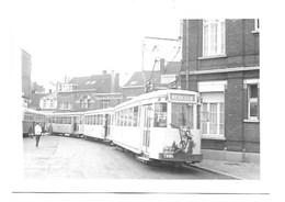 Merksem - Tram - Foto 1968. - Antwerpen