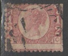 Gran Bretagna 1870 - Effigie 1/2 P. Tav. 15 - 1840-1901 (Regina Victoria)