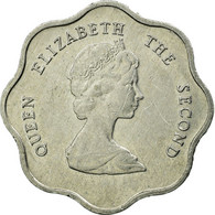 Monnaie, Etats Des Caraibes Orientales, Elizabeth II, 5 Cents, 1992, TTB - Oost-Caribische Staten