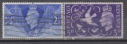 GB 1946 - MiNr: 231 - 232 Komplett   Used - 1902-1951 (Könige)