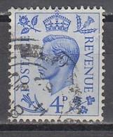 GB 1950 - MiNr: 245   Used - 1902-1951 (Könige)