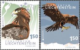 Liechtenstein 2019 Set 2 V MNH Europa  Oiseau National National Bird  Birds Oiseaux - 2019