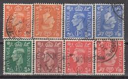 GB 1951 - MiNr: 246 - 250 Komplett + Z   Used - 1902-1951 (Könige)